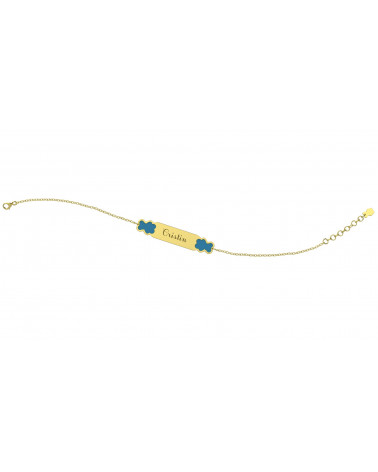 nanan-bracciale-oro-giallo-9kt-bimba-targhetta-personalizzabile-con-orsetti-azzurro-ngld0023